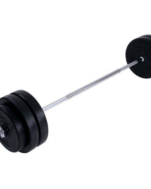 Barbell Weight Set (56.5 kg) Weight Lifting Plates Discs Set for Home Gym Fitness Workout Price