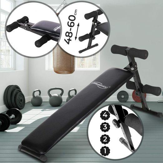 adjustable sit up bench abs trainer
