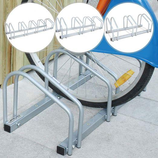 Bike Rack - Bicycle Floor Stand for Parking