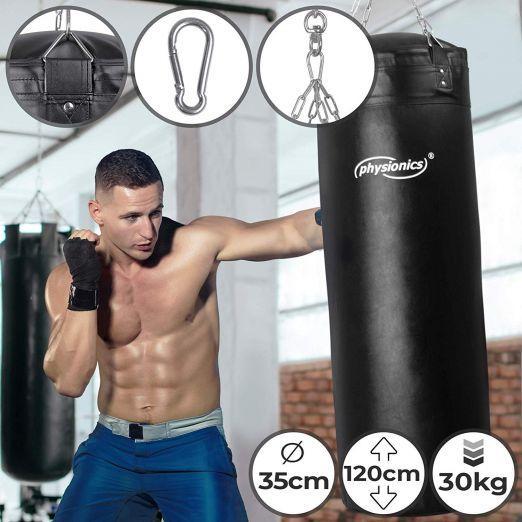 Boxing Bag 120x35cm, 30kg