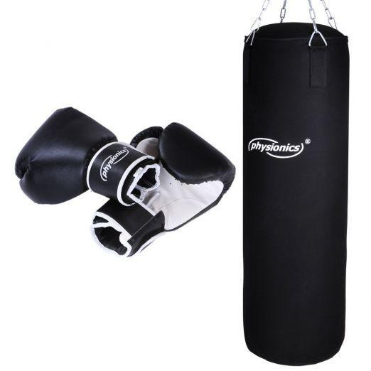 Boxing Bag 30/80cm, 19kg + Gloves 10, 12 or 14 oz price