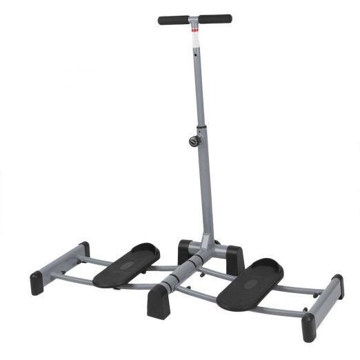 Leg Thigh Exerciser Machine + Vinyl Weights (2 x 4 kg) cheap