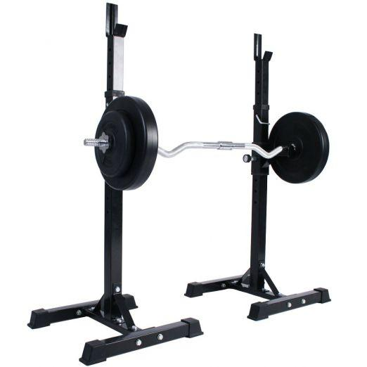 Multi-Function Height Adjustable Barbell Rack Price