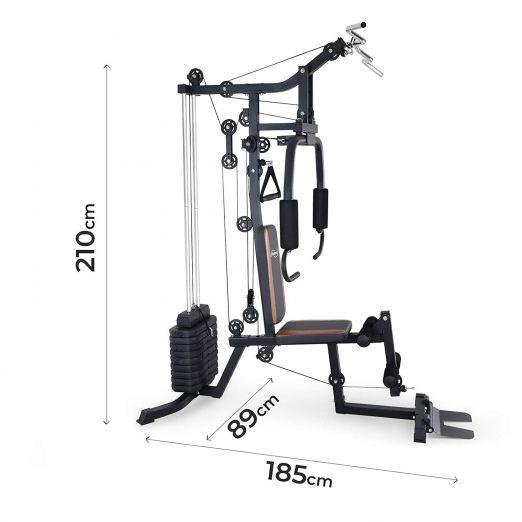 Multi-Gym Power Station with 60 kg Weight Blocks cheap