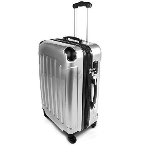 Suitcase Trolley Set Gray