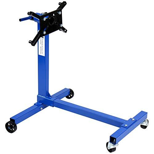 Engine Mount Support Stand with 450 kg Loading Capacity in RED or BLUE