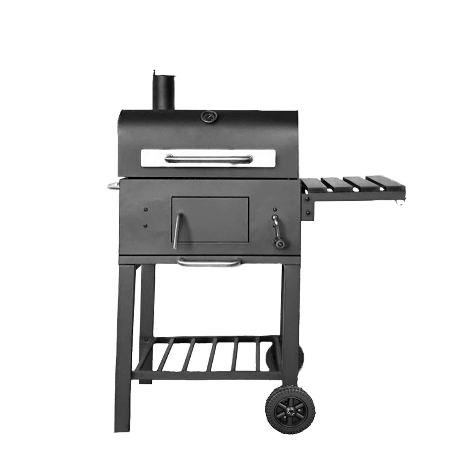 Charcoal BBQ with Extra Large Surface Area Grill Charcoal BBQ Grill with Stand