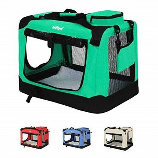 Foldup dog transport box