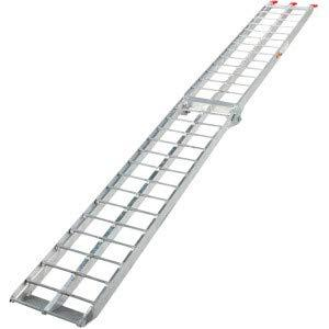 Ramp 340 kg Aluminium Foldable Anti-Slip Loading Ramp, Trailer Ramp, Loading Ramp, Loading Ramp, Bicycle