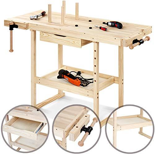 Wooden Workbench Worktable