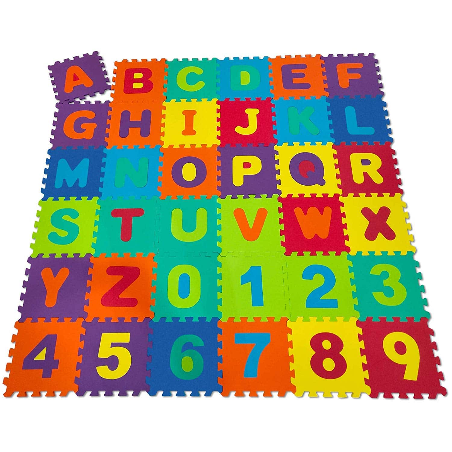 Puzzle Mat 86 430 Pieces Letters And